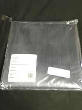 "BALI FAUX SILK GROMMET WINDOW CURTAIN PAIR PANEL /Silver  36 x 84"""