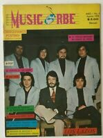 MUSIC ORBE MEXICAN MAGAZINE No 5 AUG 1972 LOS LAZOS / JUAN GARCIA ESQUIVEL +MORE