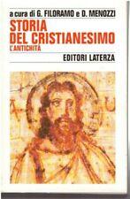 Storia del Cristianesimo, l'Antichità, G.Filoramo-D.Menozzi curr., Laterza 1997