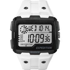 Orologio TIMEX mod. GRID SHOCK ref TW4B04000 Uomo in gomma bianco digitale Light