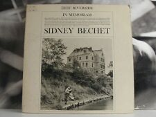 SIDNEY BECHET - IN MEMORIAM LP EX-/EX USA MONO DG RLP 138/139 SMALL BLUE LABEL