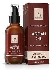 Mother Nature – Argan-Öl 100 ml | Nicht Parfümiert | Für Haut, Haar, Nägel