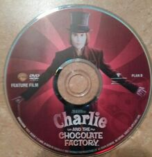 Charlie and the chocolate factory dvd disc only No Tracking!