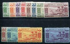 NOUVELLES HEBRIDES 1938 Yvert 100-111 ** POSTFRISCH (Z2364