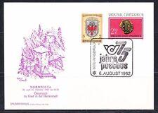 Austria 1982 post card Nordposta 75th anniver Postbus/ Postal history