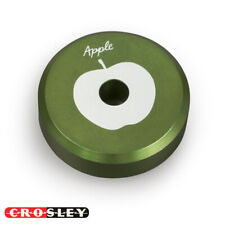 NEW Crosley CR9100A-AP The BEATLES 45 Record Player Adapter - Green Apple