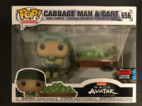 Cabbage Man & Cart Avatar Funko POP! 2019 NYCC Exclusive Official Sticker #656