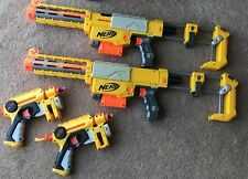 Nerf Guns And Clip Lot