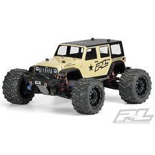 Proline Jeep Wrangler Unlimited Rubicon Unpainted Body for T/E-MAXX 3.3, REVO 3.