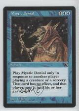 1998 Magic: The Gathering - Portal Starter Set 2nd Age #NoN Mystic Denial 0a1