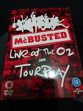 McBUSTED, LIVE AT THE O2 AND TOUR PLAY 2 DISC DVD SET REG 2