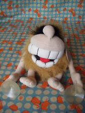 """Captain Caveman  plush toy car bedroom window sucker by groove 7"""" approx"""