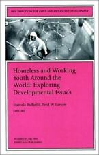 Homeless and Working Youth Around the World: Exploring Developmental Issues: New