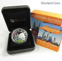 2011 CELEBRATE AUSTRALIA WESTERN AUSTRALIA PERTH ANDA Coin Show Special Silver