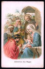 santino cromo-holy card *NATIVITA',ADORAZIONE DEI RE MAGI 4