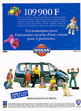 PUBLICITE ADVERTISING 104  1994   NISSAN  monospace  SERENA