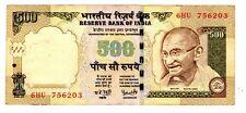 Inde INDIA Billet 500 RUPEES ( 2008 - 2011,) P99 GHANDI BON ETAT