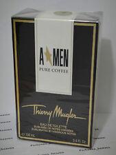 A MEN Angel Men Pure Coffee EDT Thierry Mugler 3.4 oz / 100 ML  Rare * Sealed