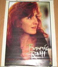 Bonnie Raitt Longing In Hearts, Capitol  00004000 promotional poster, 1994, 18x24, Ex!