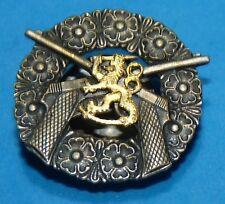 WW2 Dutch Netherlands Nederland Holland Lion Sword Sterling Award Pin Rare