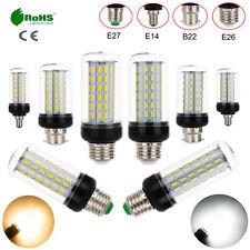 40W LED Corn Light Bulb E14 E26 E27 B22 7030 SMD Cool Warm White Lamp 110-265V