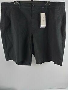 NYDJ Lift and Tuck Womens Black Shorts Size 22W NWT