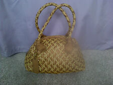 Emmy Wieleman plaited leather handbag
