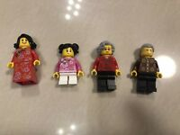 Lego Exclusive Chinese New Year Eve Dinner mini figures from 80101 80102 Series