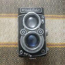 Rolleiflex 2.8A 80mm F/2.8 Ziess Tessar 6x6 Cámara De Medio Formato Tlr-Raro -