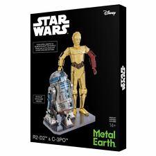 Metal Earth 3D Laser Cut Model Star Wars C-3PO & R2-D2 Gift Set DIY MODEL KIT