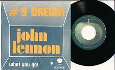 "JOHN LENNON 45 TOURS 7"" BELGIUM WHAT YOU GOT"
