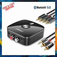 New listing Bluetooth RCA Receiver 5.0 3.5mm Jack Aux Wireless Adapter Music for TV Car