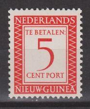 P2 Indonesia Nederlands Nieuw Guinea New Guinea port 2 MNH PF 1957