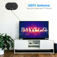 50 Millas Distancia Interior Digital TV Antena HDTV 1080P 4K Amplificador