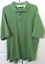 Orvis Mens Short Sleeve Polo Shirt Olive Green XL EUC