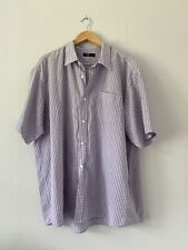 Mens shirt size 3XL Purple Cotton traders <FF2803