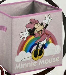 Disney Minnie Mouse Foldable Storage Box 28 x 28 x 28cm