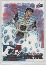 2016 Upper Deck Captain America: Civil War Sketch Cards #JIFA Jim Faustino s7f