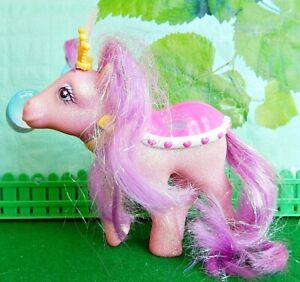 MLP 1992 My Little Pony - G1 Princess Sparkle UK Variant - Crown Optics Working