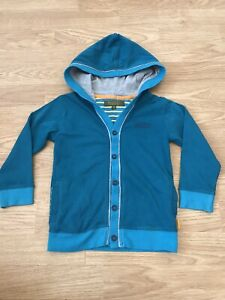 Boys Ted Baker Teal Jersey Cardigan 2-3 Years