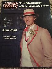 """DOCTOR WHO """"The Making of a Television Series"""" book 1983"""