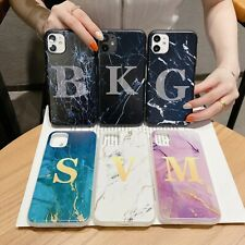 10pcs/lot Alphabet Marble TPU Soft Case for iPhone 12 Samsung Note 20 ULTRA