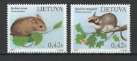 Lithuania 2017 Fauna Animals 2 MNH stamps