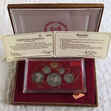 Singapore 1975 6 MONETE PROOF ANNO SET-Sigillato/COMPLETA