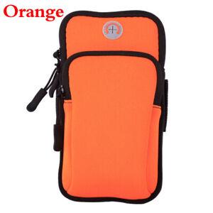 Universal Sports Running Arm Band CaseMobile Cell Phone Holder Zipper Bag Hot