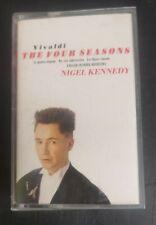 Vivaldi The Four Seasons - Nigel Kennedy - Cassette Tape