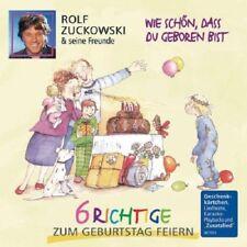 ROLF ZUCKOWSKI - WIE SCHÖN,DASS DU GEBOREN BIST-6 RICHTIGE GEB  CD NEUF