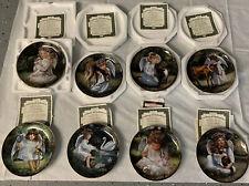 "Franklin Mint Set(Lot) Of 8 ""An Angels.� Collectors Plates"