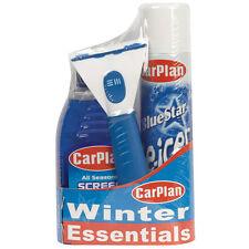 CarPlan Winter Essential Travel Kit De Icer Ice Scraper Screen Wash Melt Care