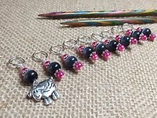 Sheep Stitch Marker Set (SNAG FREE)- Set of 9 Markers for Knitting